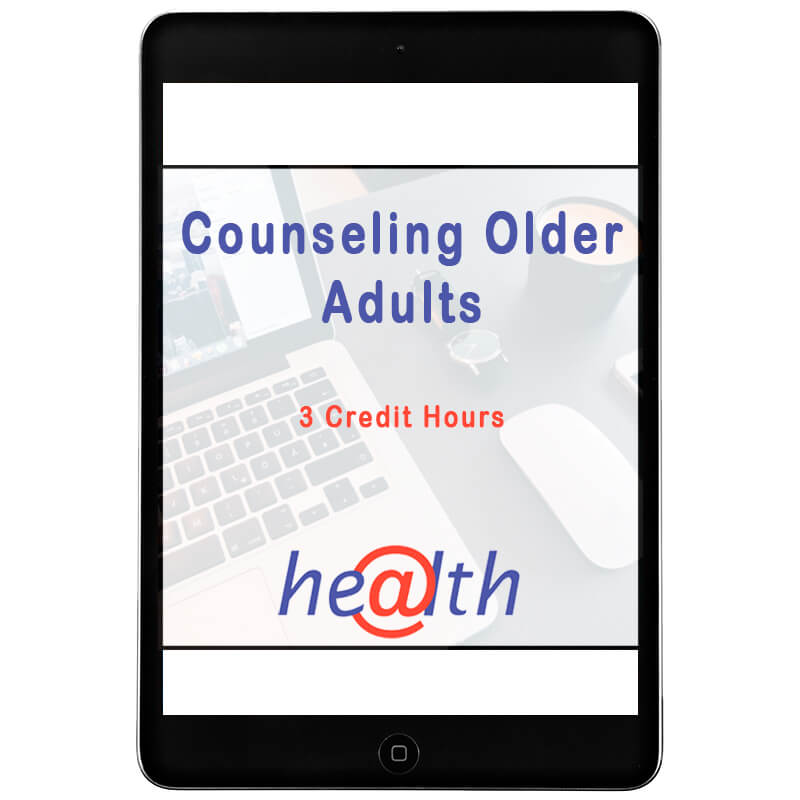 Even Counseling older adults was specially