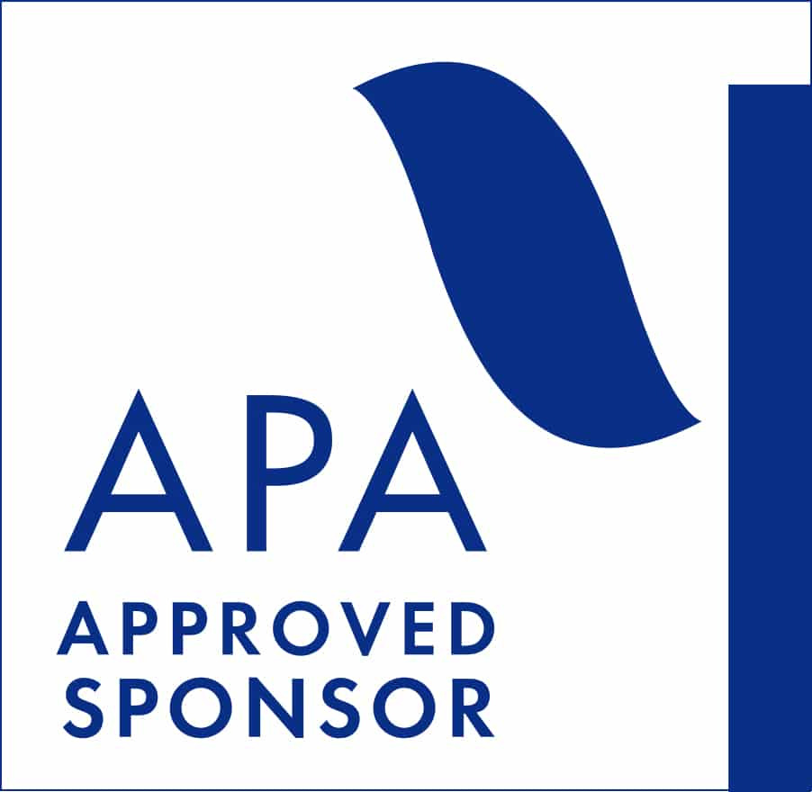 APA Approved Sponsor